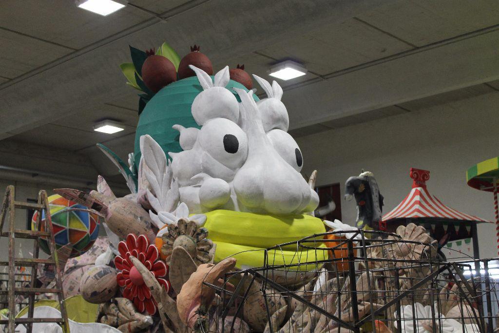 Preparazione Carnevale 2015